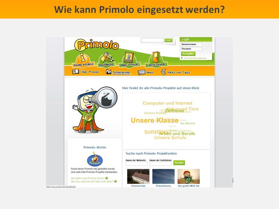 Wie kann Primolo eingesetzt werden