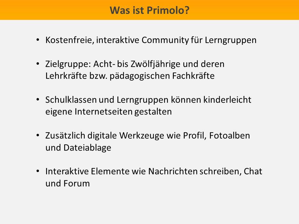 Was ist Primolo Kostenfreie, interaktive Community für Lerngruppen