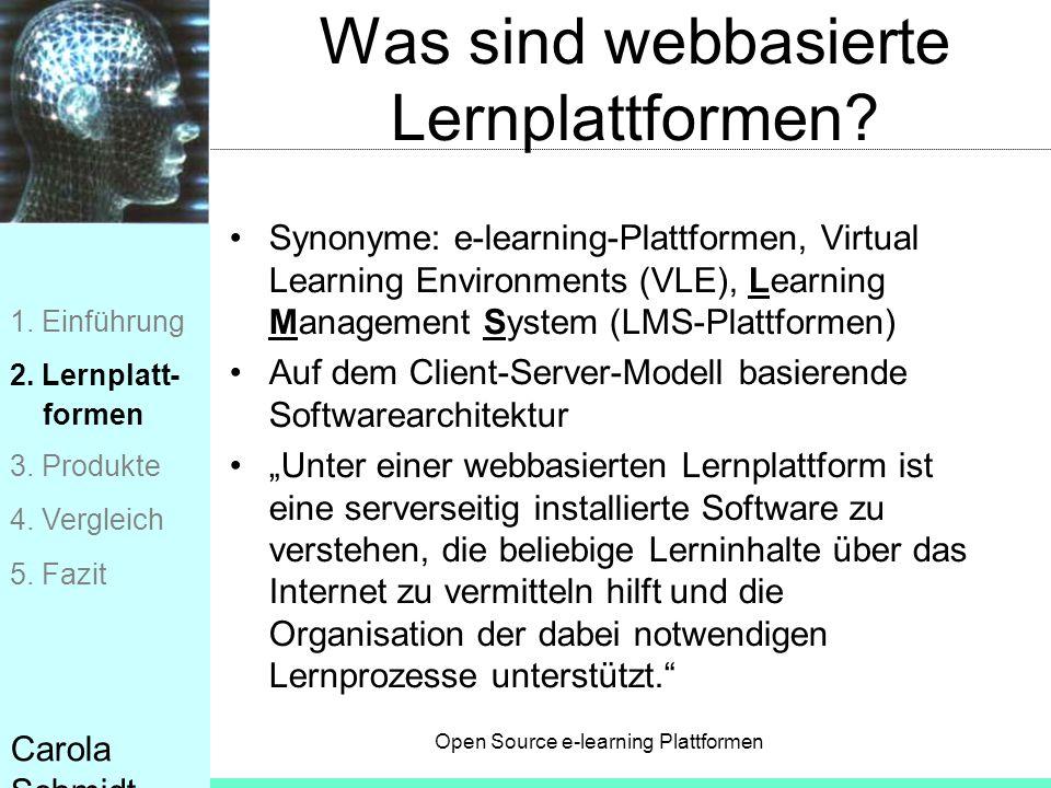 Was sind webbasierte Lernplattformen