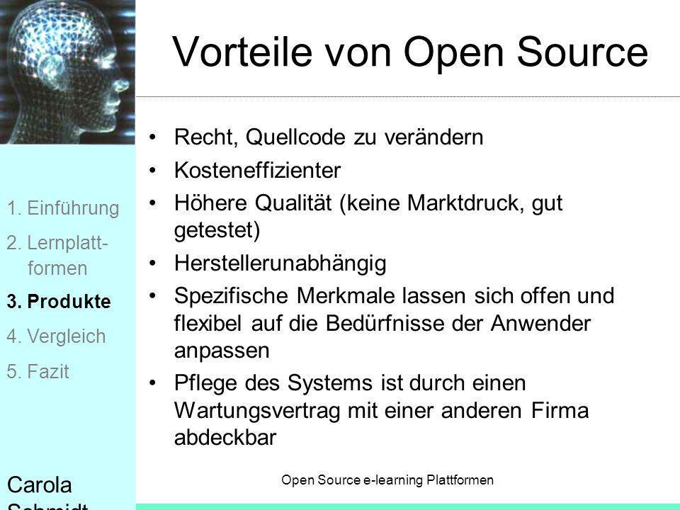Vorteile von Open Source