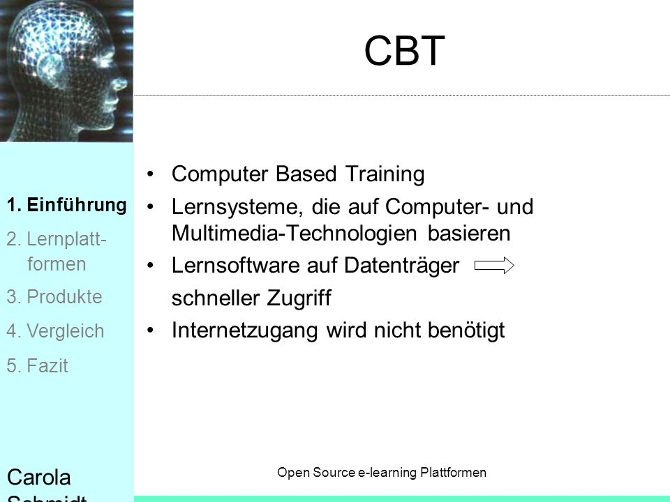 CBT Computer Based Training