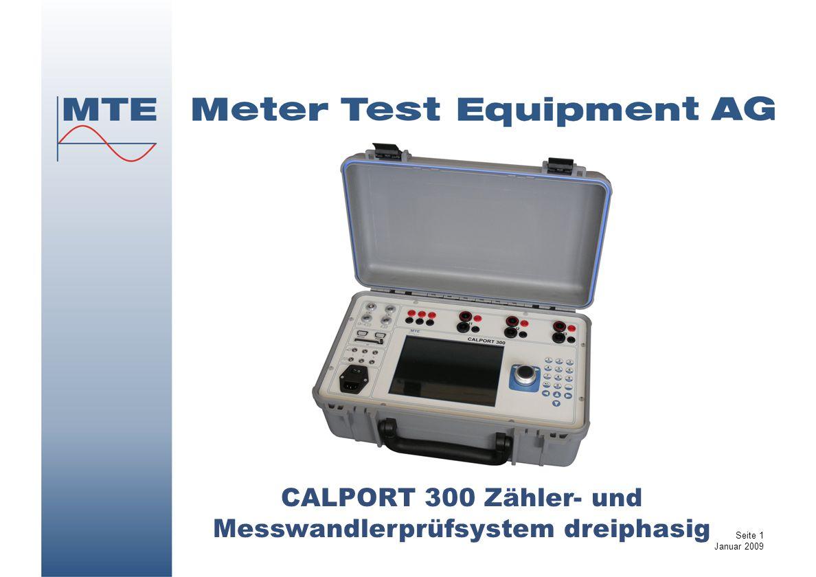 CALPORT 300 Zähler- und Messwandlerprüfsystem dreiphasig