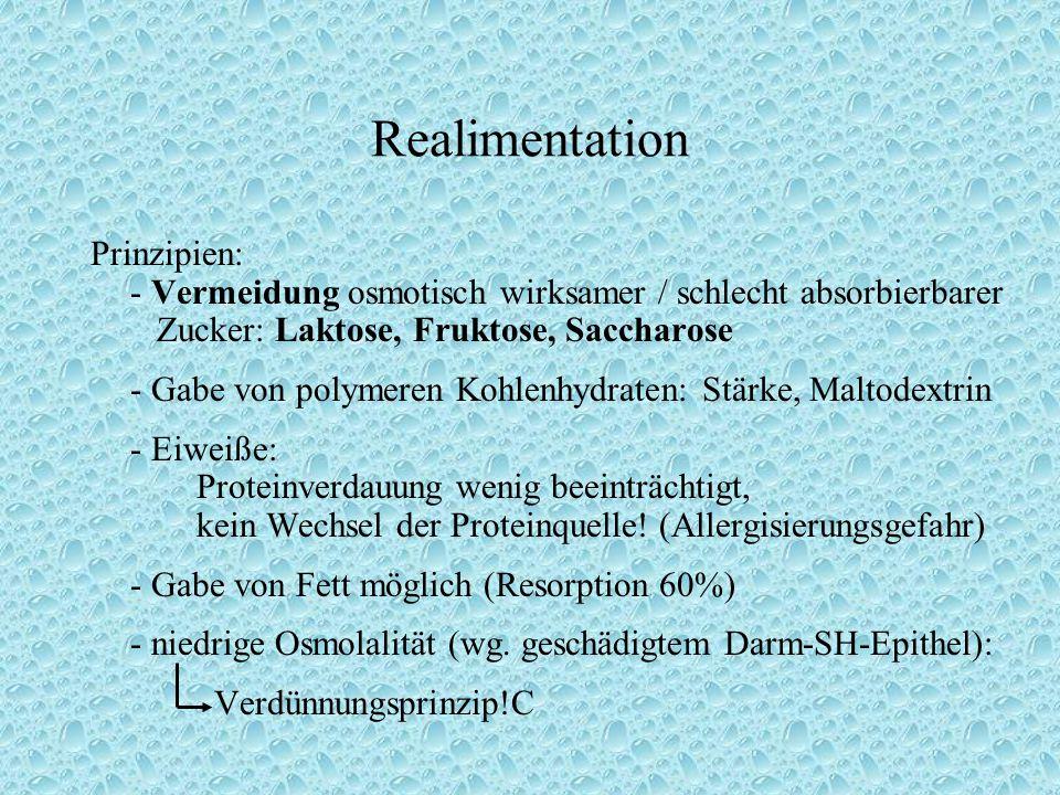 Realimentation Prinzipien: