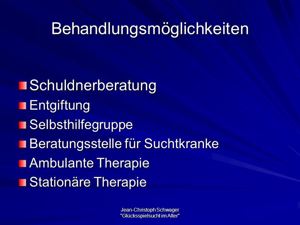 Behandlungsmöglichkeiten