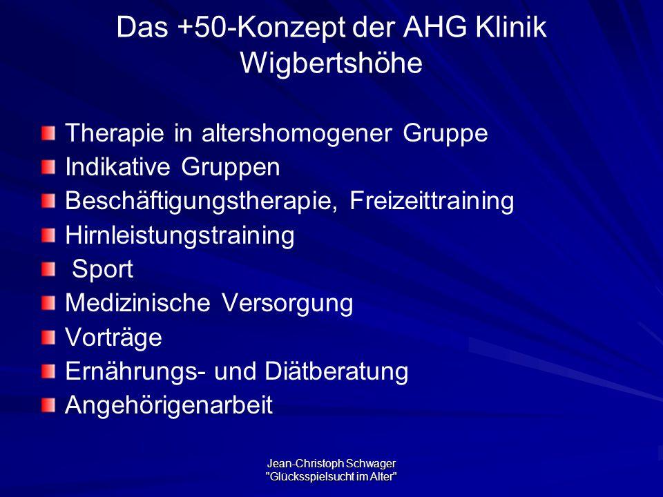 Das +50-Konzept der AHG Klinik Wigbertshöhe