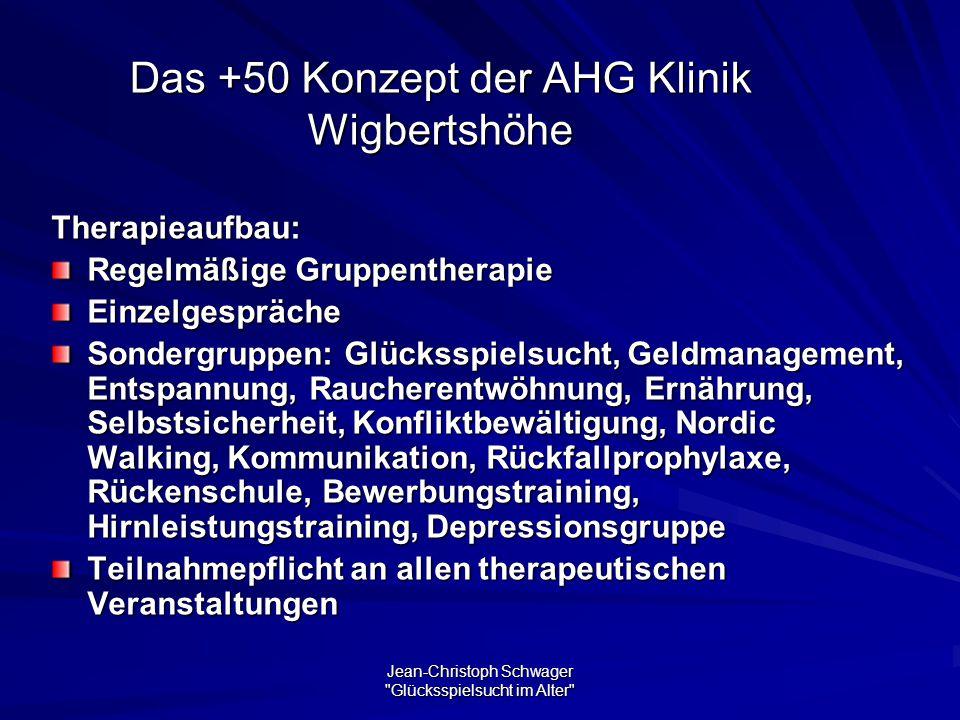Das +50 Konzept der AHG Klinik Wigbertshöhe