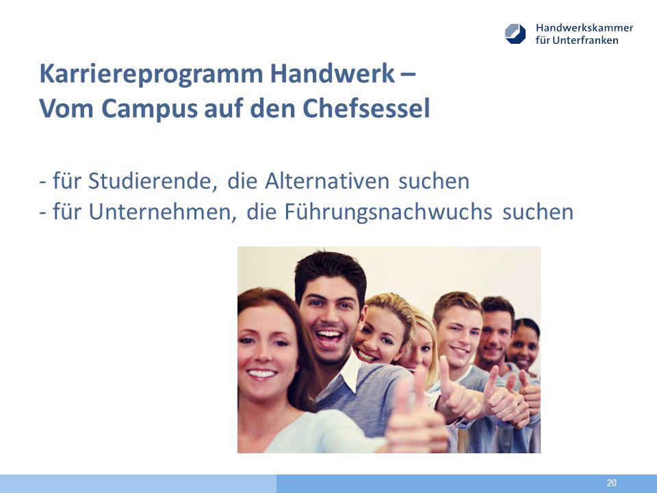 """Fortbildung zum Thema """"Ausbildungs- und Karrieremöglichkeiten im Handwerk"""
