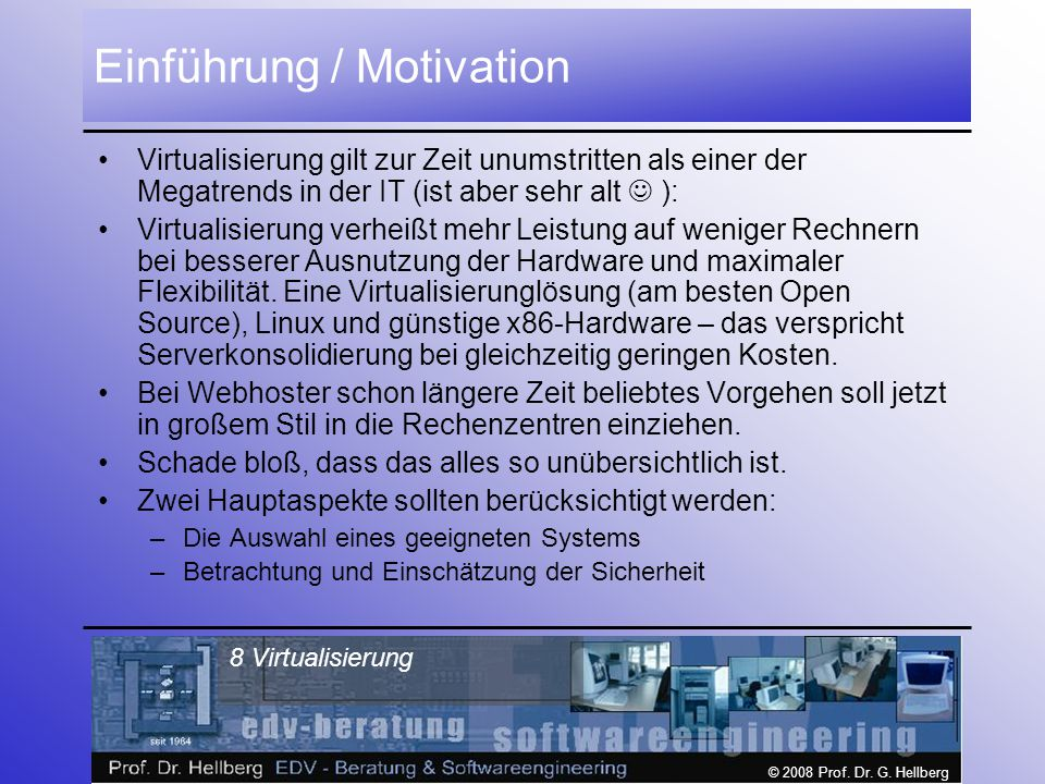 Einführung / Motivation
