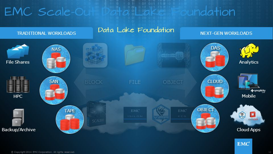 EMC Scale-Out Data Lake Foundation