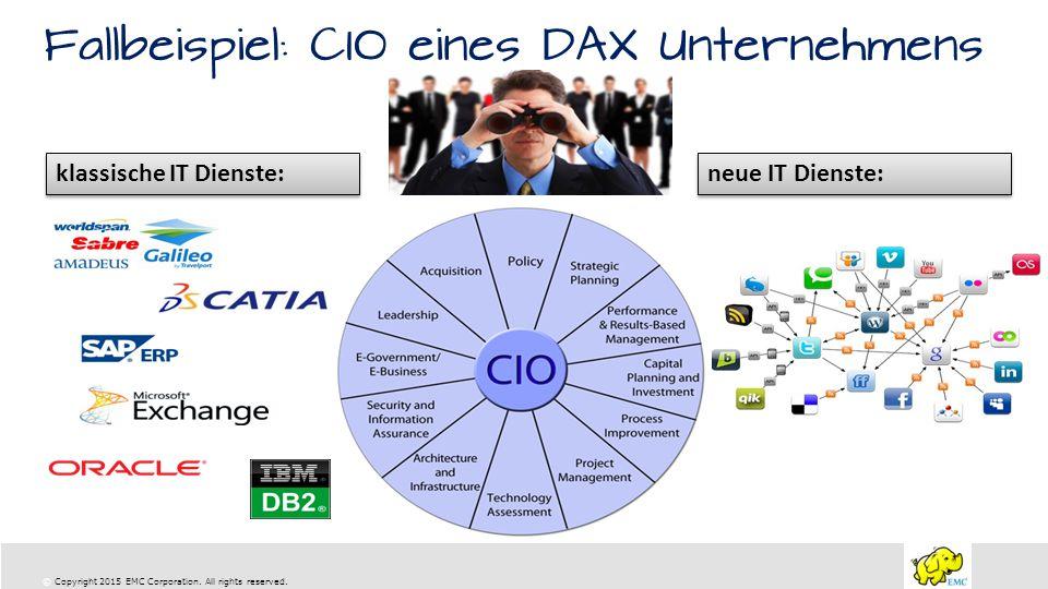 Fallbeispiel: CIO eines DAX Unternehmens
