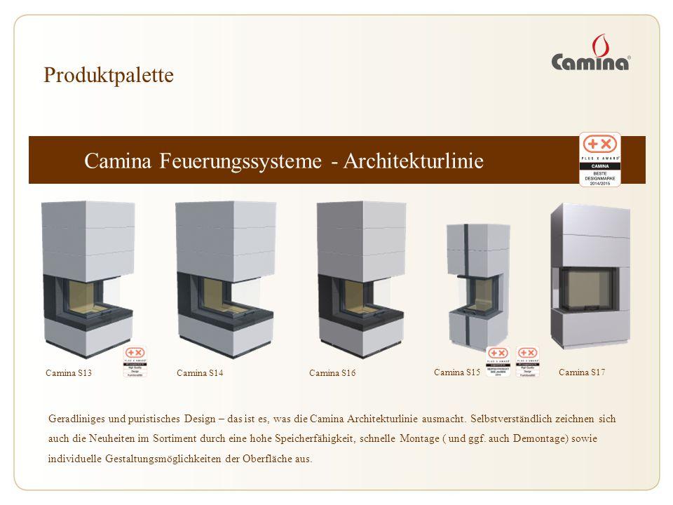 Camina Feuerungssysteme - Architekturlinie