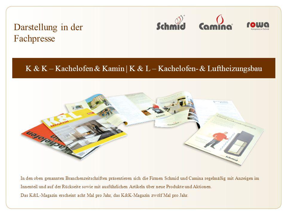 K & K – Kachelofen & Kamin | K & L – Kachelofen- & Luftheizungsbau