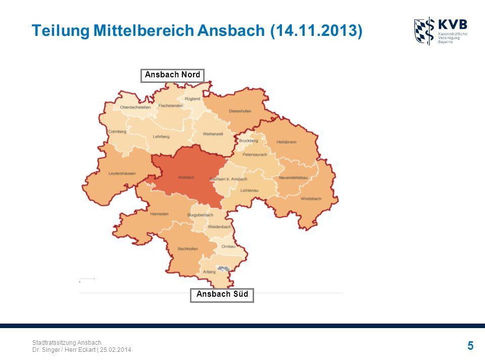 Teilung Mittelbereich Ansbach (14.11.2013)