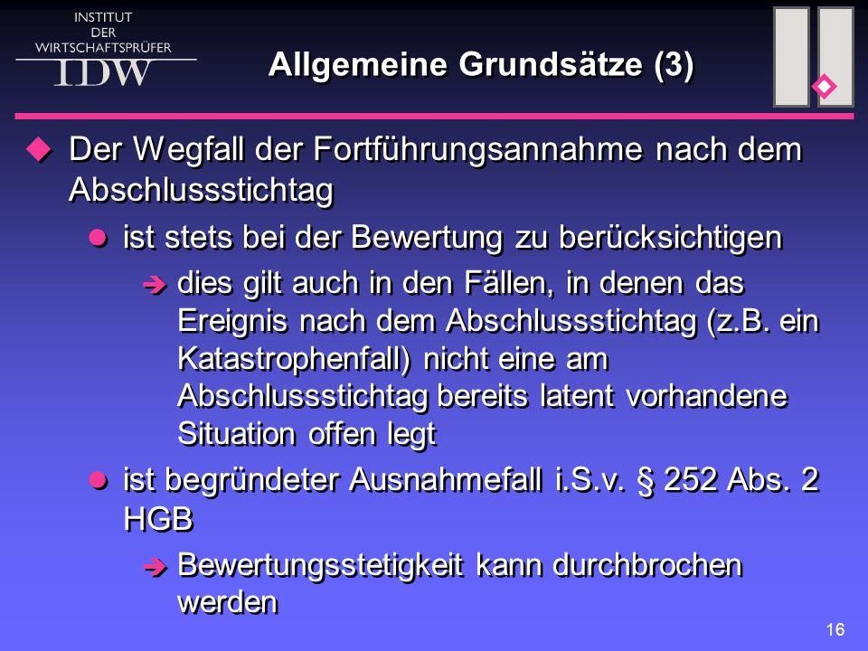 Allgemeine Grundsätze (3)