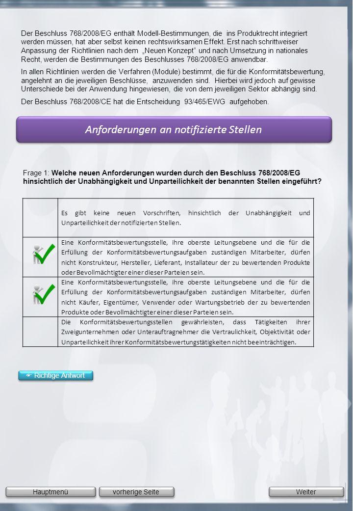 Anforderungen an notifizierte Stellen