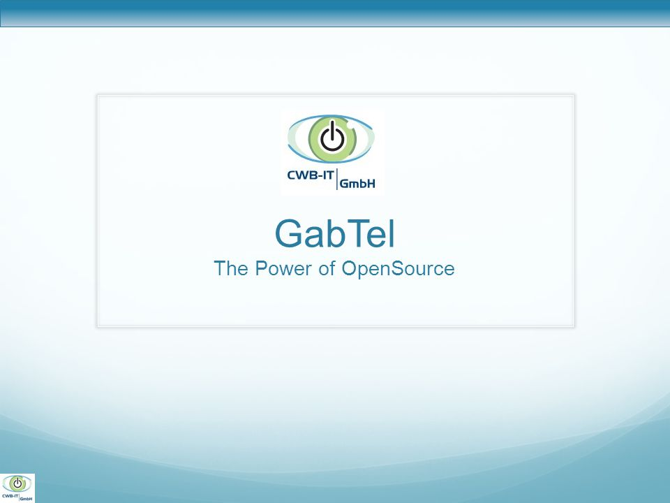 GabTel The Power of OpenSource
