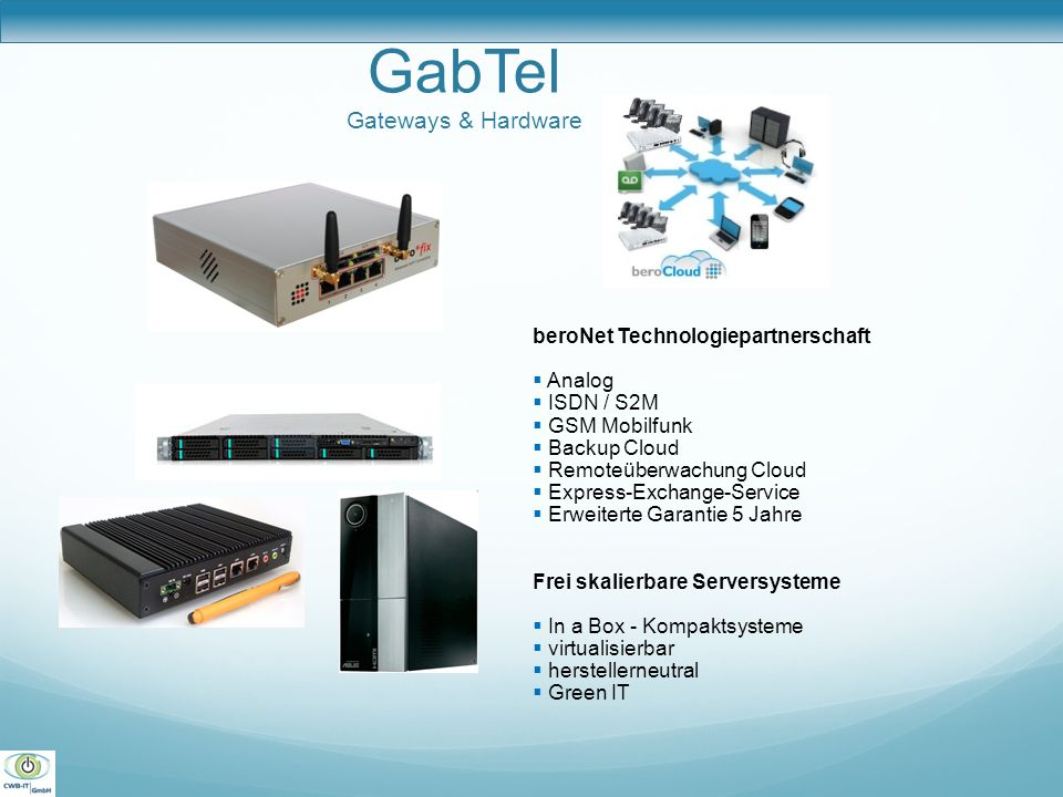 GabTel Gateways & Hardware