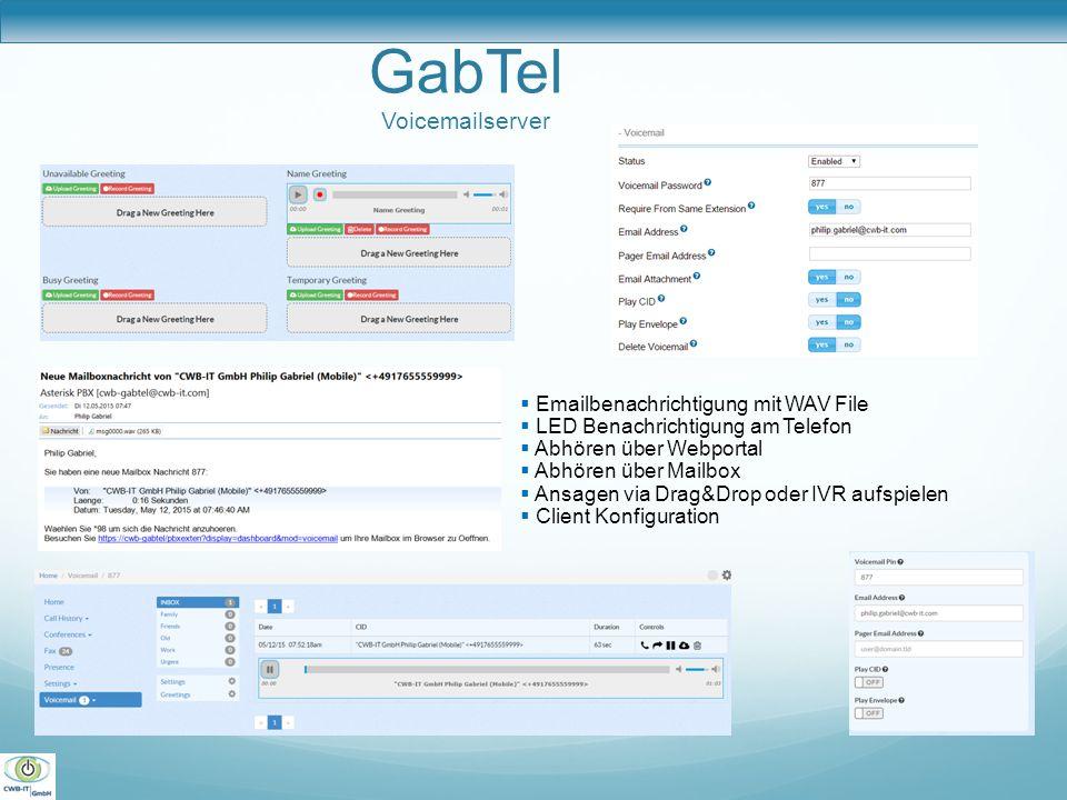 GabTel Voicemailserver