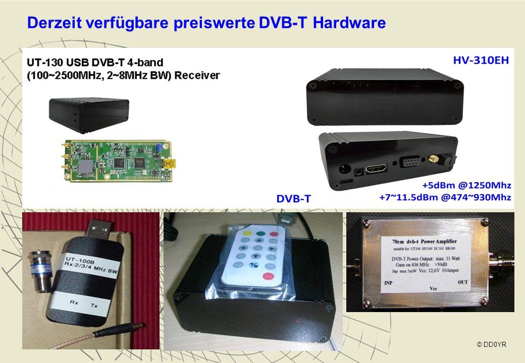 Derzeit verfügbare preiswerte DVB-T Hardware