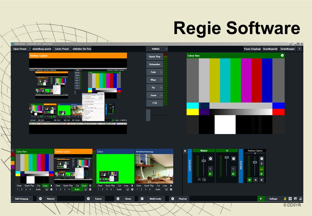 Regie Software © DD0YR