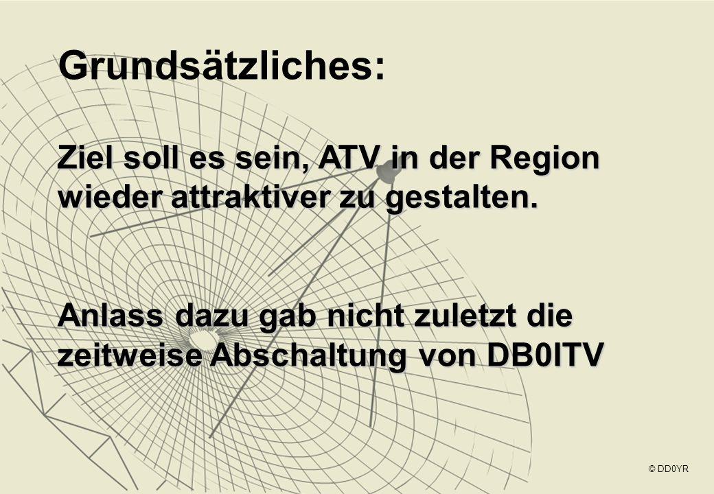 Grundsätzliches: Ziel soll es sein, ATV in der Region wieder attraktiver zu gestalten.