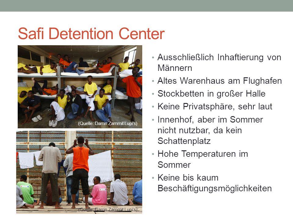 Safi Detention Center Ausschließlich Inhaftierung von Männern