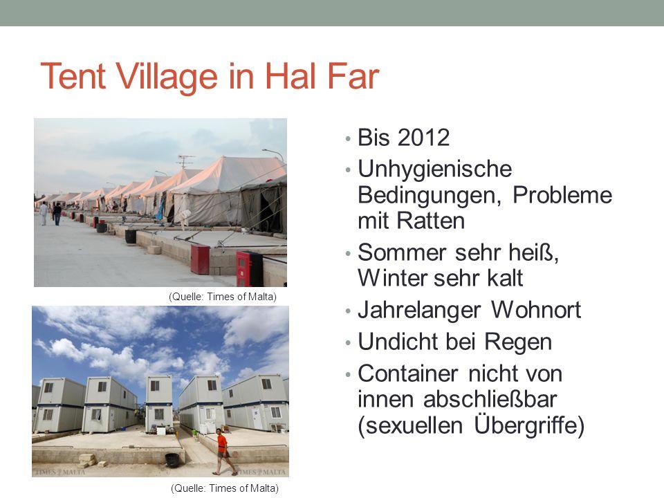 Tent Village in Hal Far Bis 2012