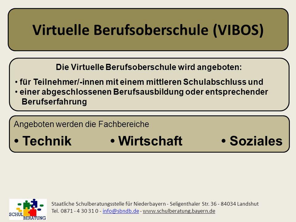 Virtuelle Berufsoberschule (VIBOS)