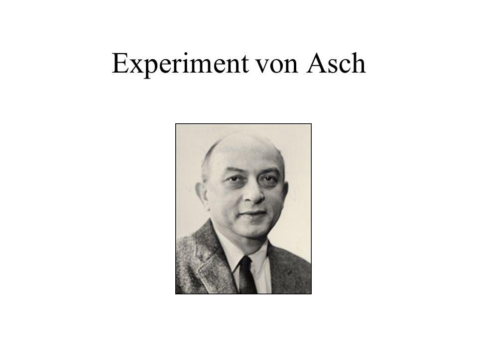 Experiment von Asch