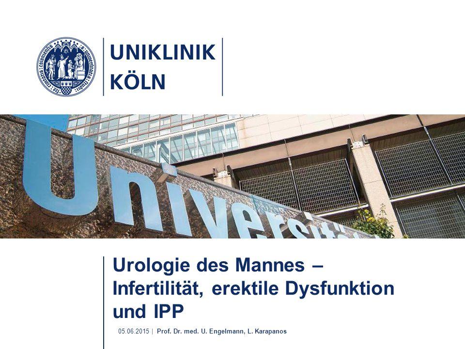 Urologie des Mannes – Infertilität, erektile Dysfunktion und IPP