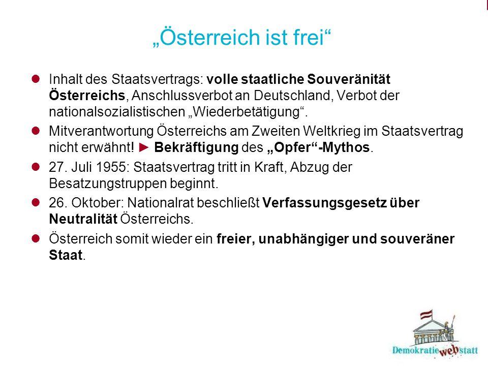 """""""Österreich ist frei"""
