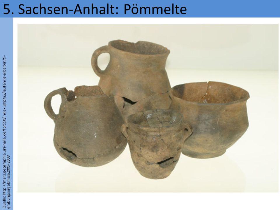 5. Sachsen-Anhalt: Pömmelte