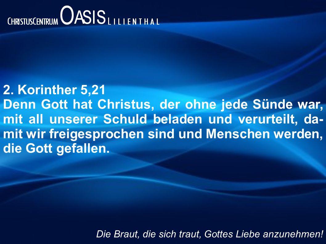 2. Korinther 5,21