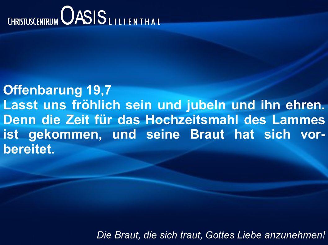 Offenbarung 19,7