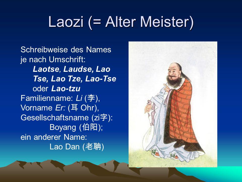 Laozi (= Alter Meister)