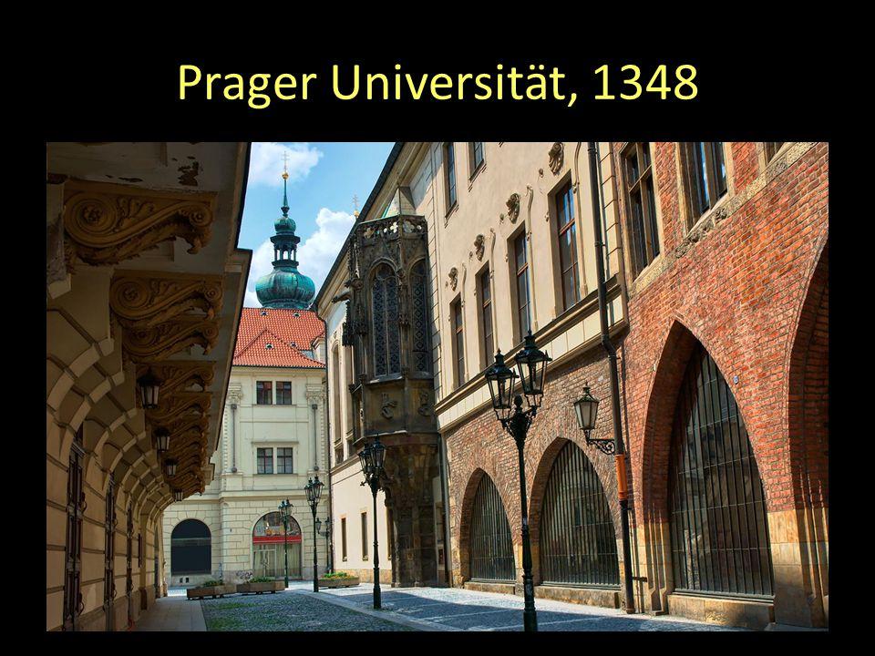 Prager Universität, 1348