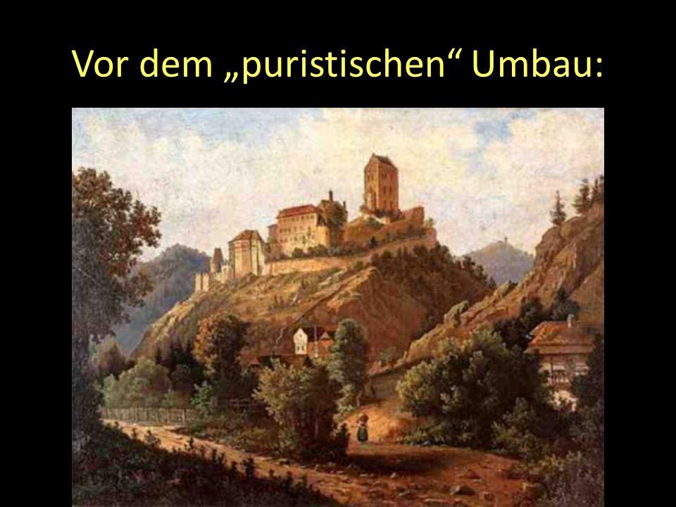 """Vor dem """"puristischen Umbau:"""
