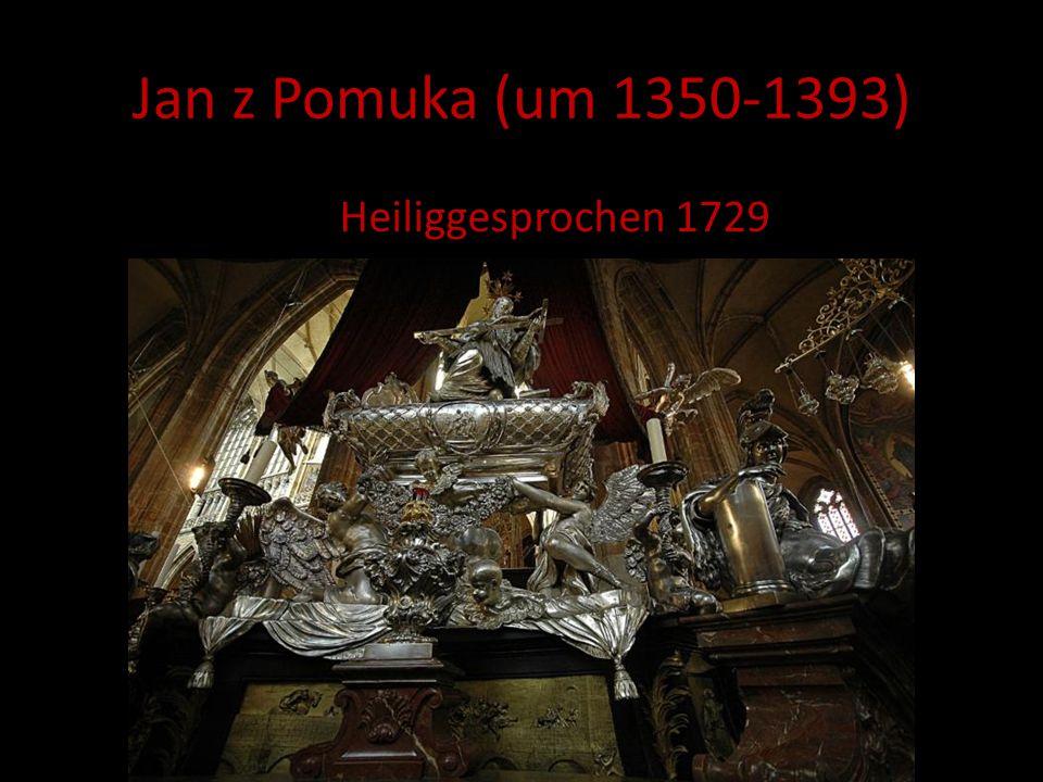 Jan z Pomuka (um 1350-1393) Heiliggesprochen 1729