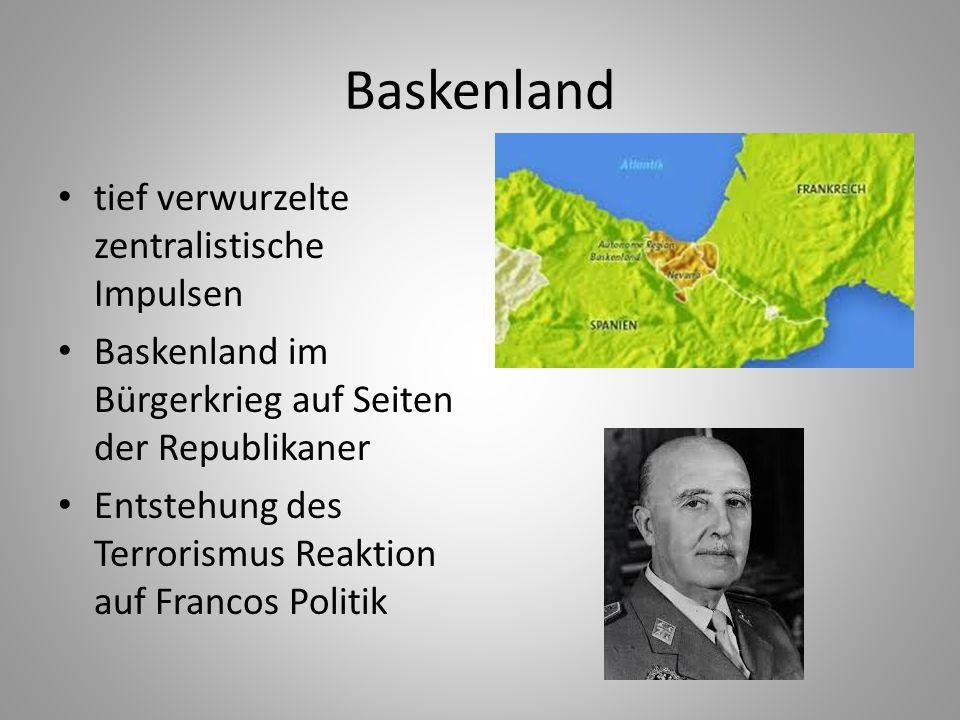 Baskenland tief verwurzelte zentralistische Impulsen