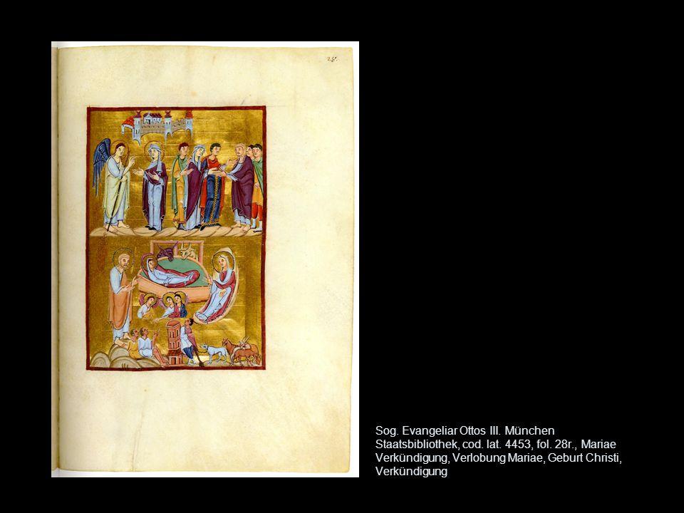 Sog. Evangeliar Ottos III. München Staatsbibliothek, cod. lat