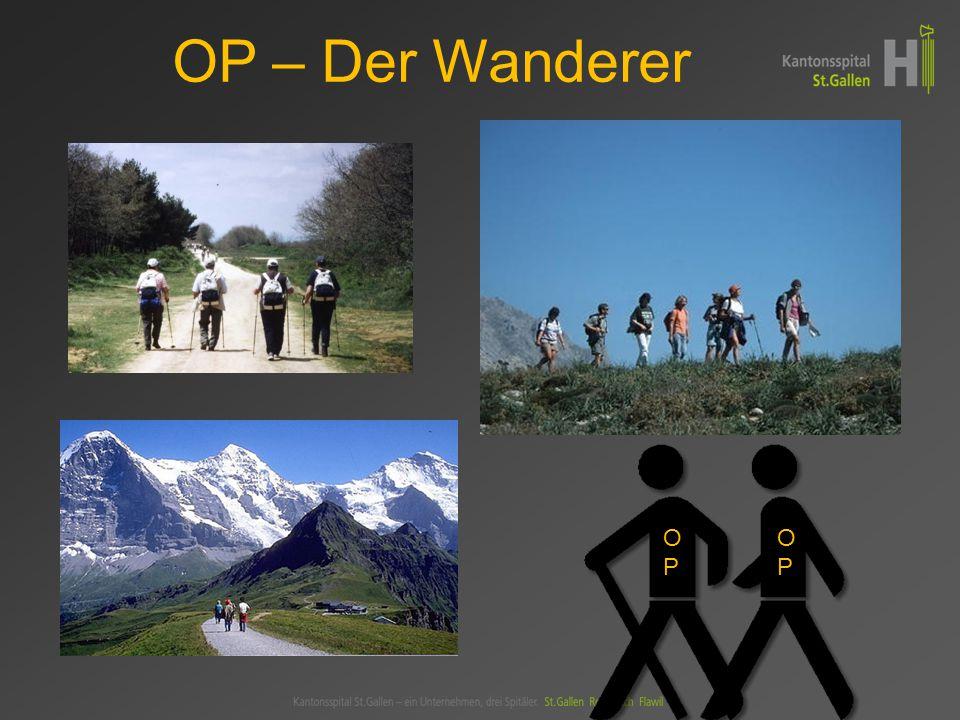 OP – Der Wanderer OP OP
