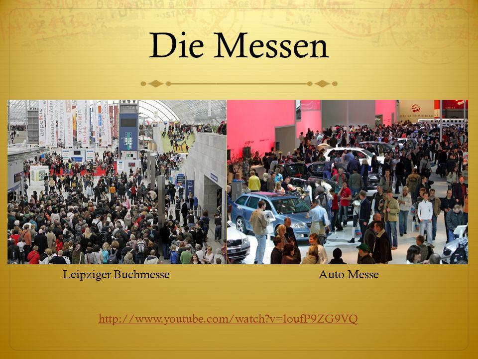 Die Messen Leipziger Buchmesse Auto Messe