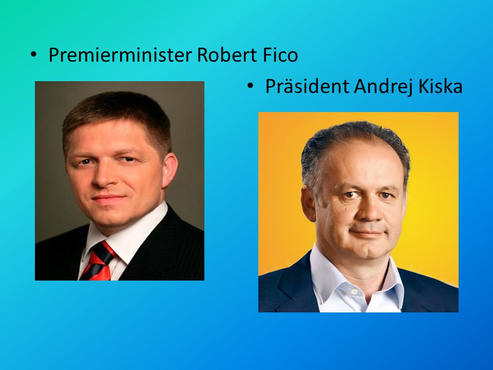 Premierminister Robert Fico