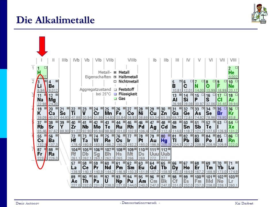 Die Alkalimetalle