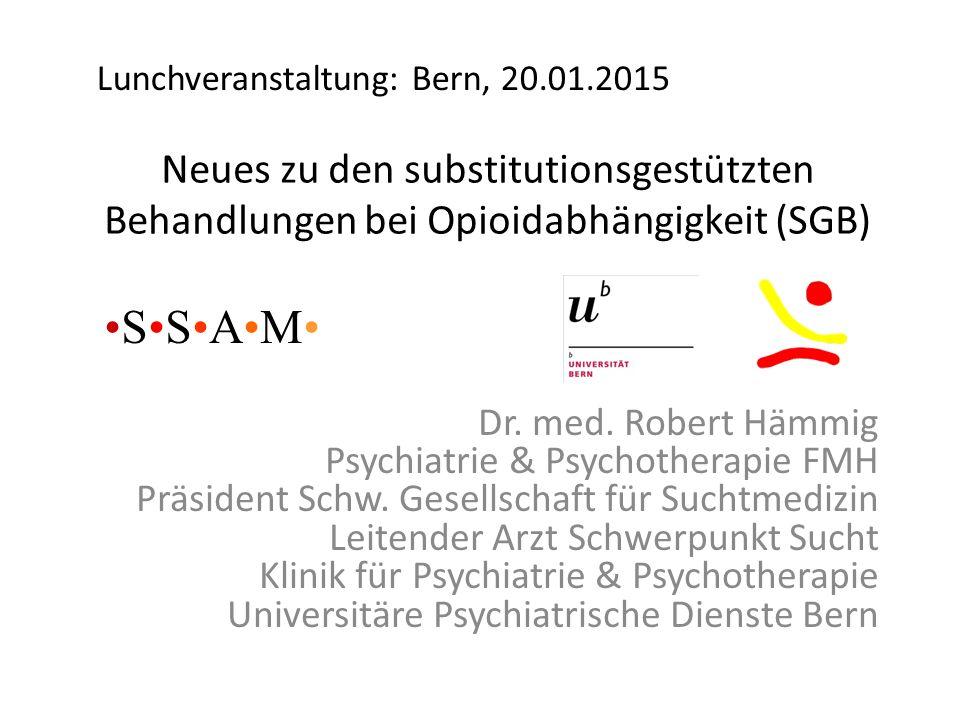 Lunchveranstaltung: Bern, 20.01.2015