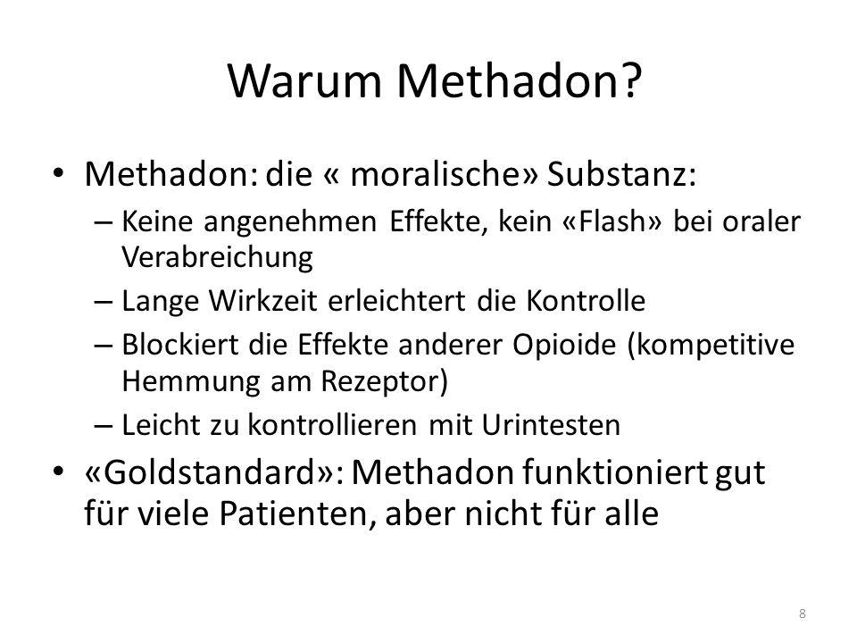 Warum Methadon Methadon: die « moralische» Substanz: