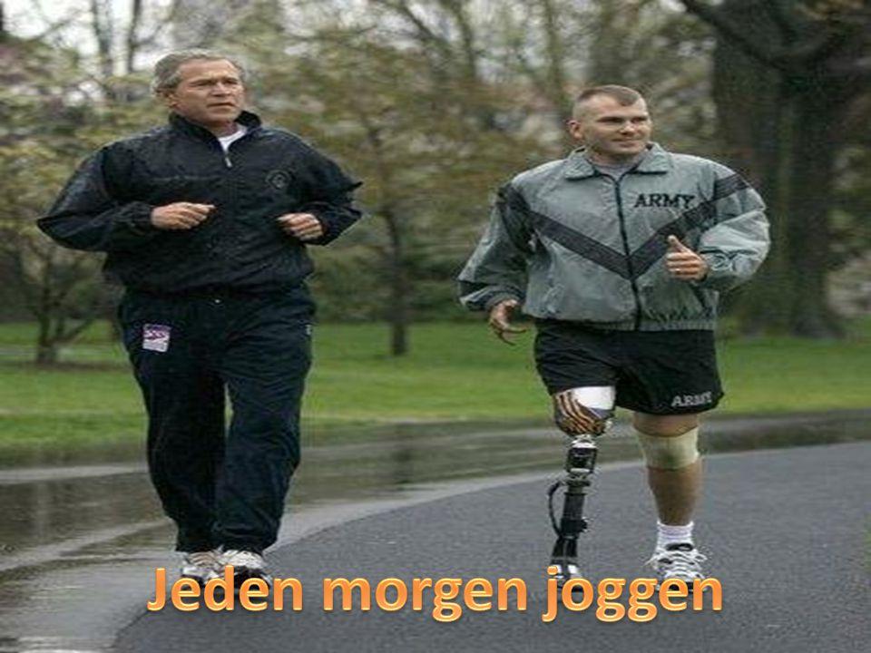 Jeden morgen joggen