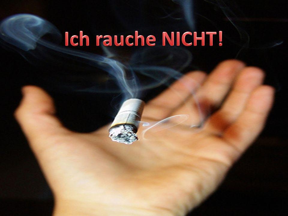 Ich rauche NICHT!