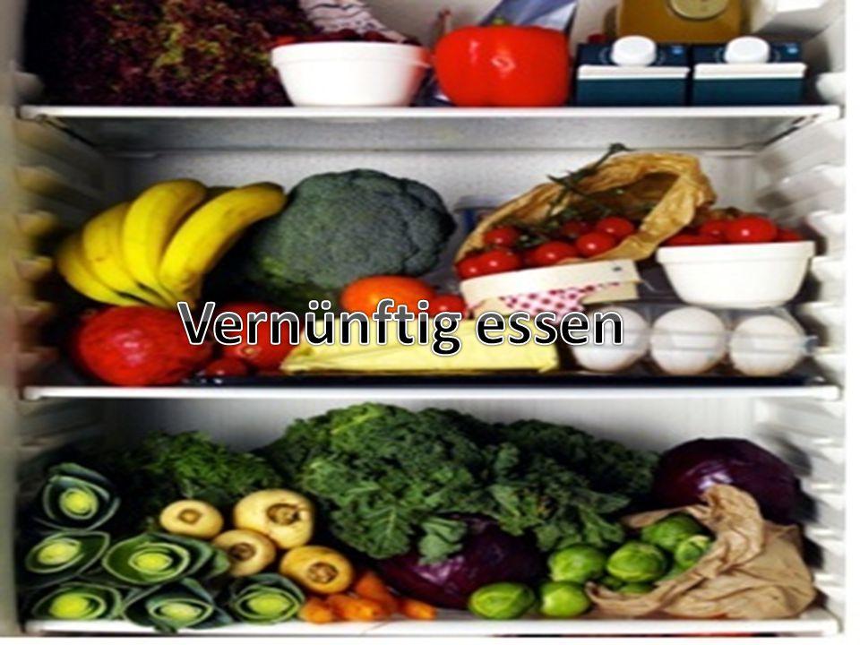 Vernünftig essen