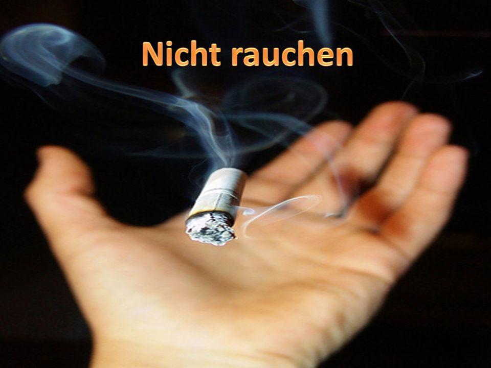 Nicht rauchen